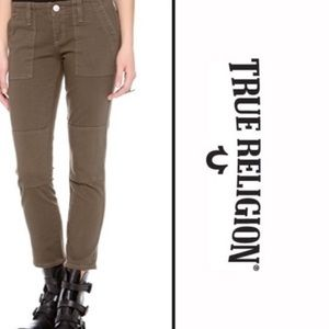 True Religion- Joyce Military Styled Jeans